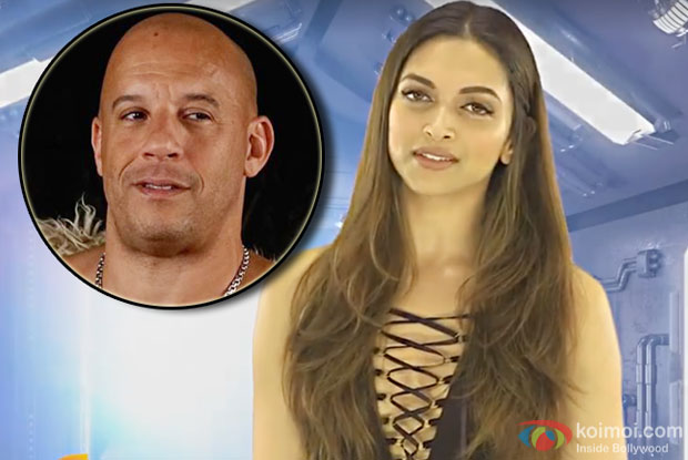 Deepika Padukone wants Vin Diesel trapped in 'Bigg Boss' house
