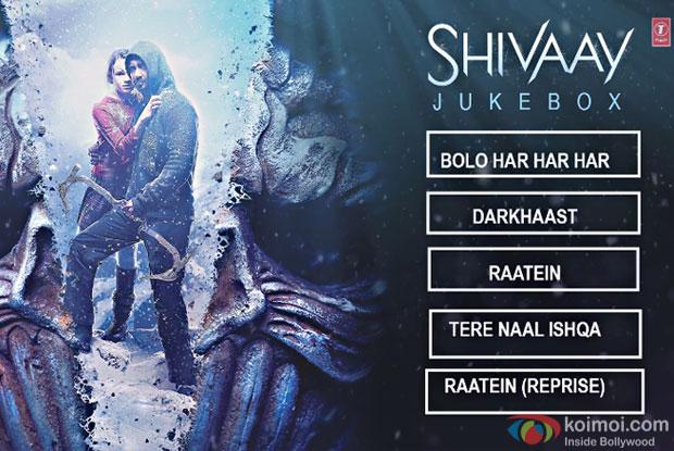 Enjoy Shivaay Full Audio Jukebox
