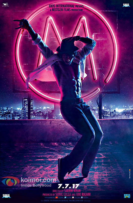 First Look Of Tiger Shroff's Munna Michael Revealed