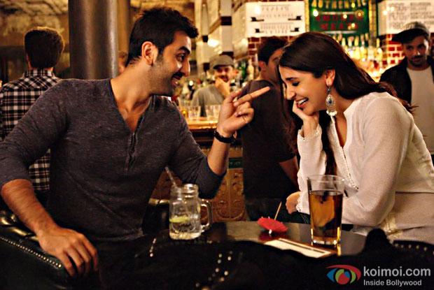 Ranbir Kapoor and Anushka Sharma in a still from Ae Dil Hai Mushkil