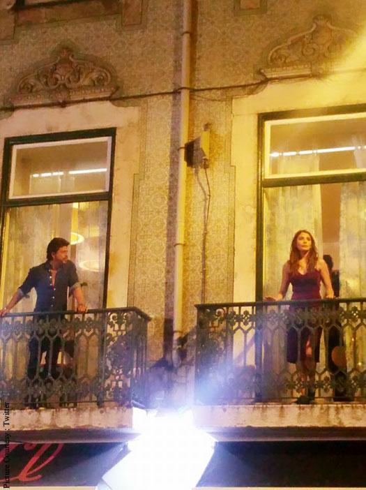 Fresh Pictures: Anushka Sharma, Shah Rukh Khan At The Ring Shoot In Lisbon
