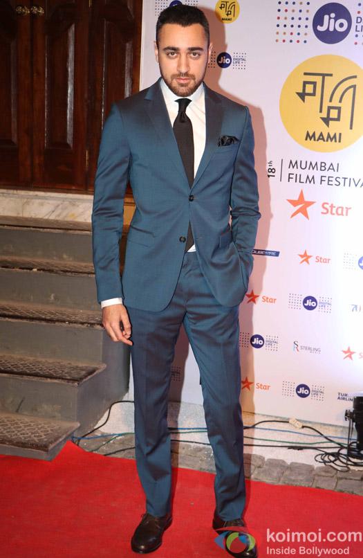 Imran Khan During The Jio MAMI 18th Mumbai Film Festival - Opening ceremony