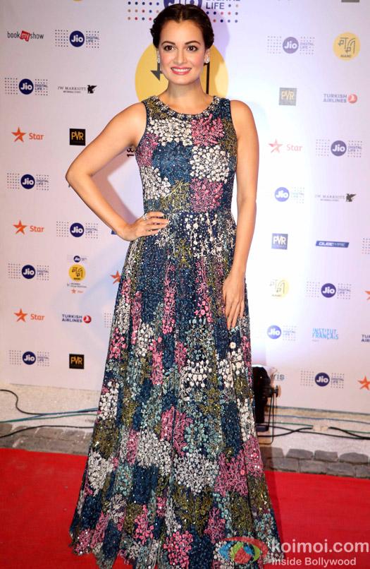 Dia Mirza During The Jio MAMI 18th Mumbai Film Festival - Opening ceremony