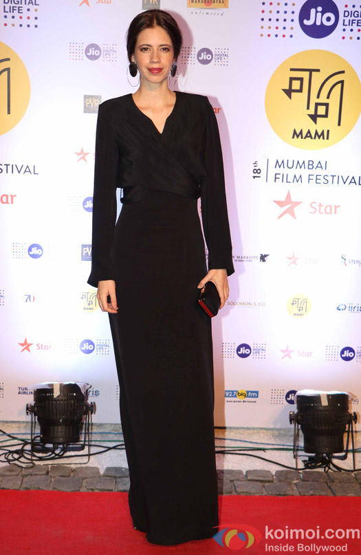 kalki koechlin During The Jio MAMI 18th Mumbai Film Festival - Opening ceremony