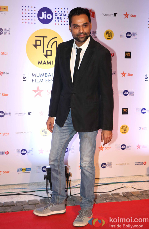Abhay deol During The Jio MAMI 18th Mumbai Film Festival - Opening ceremony