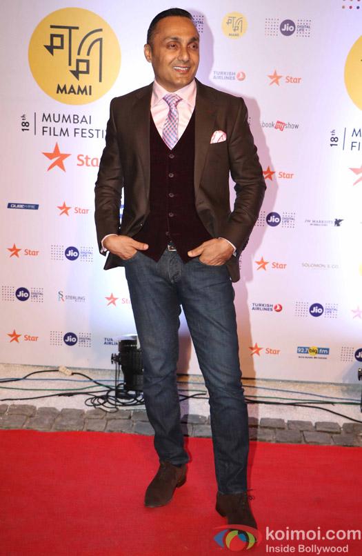 Rahul Bose During The Jio MAMI 18th Mumbai Film Festival - Opening ceremony