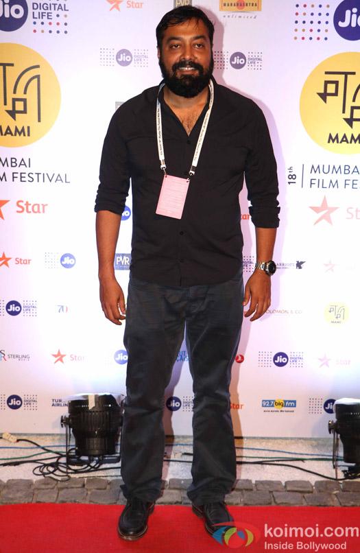 Anurag Kashap During The Jio MAMI 18th Mumbai Film Festival - Opening ceremony