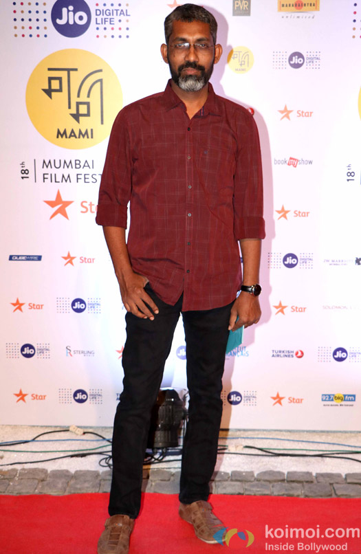 Nagraj Manjule During The Jio MAMI 18th Mumbai Film Festival - Opening ceremony