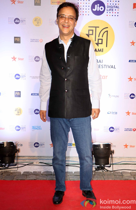 Vidu Vinod Chopra During The Jio MAMI 18th Mumbai Film Festival - Opening ceremony