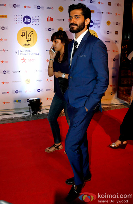 Harshvardhan Kapoor During The Jio MAMI 18th Mumbai Film Festival - Opening ceremony