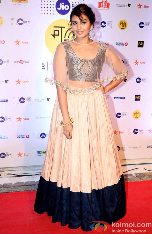 Huma Qureshi During The Jio MAMI 18th Mumbai Film Festival - Opening ceremony