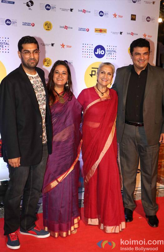 Siddharth Roy Kapur and Kunal Roy kapoor During The Jio MAMI 18th Mumbai Film Festival - Opening ceremony
