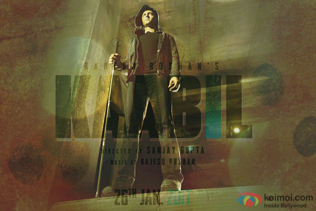 Kaabil Motion Poster: Hrithik Roshan Seen In A Mysterious Manner!
