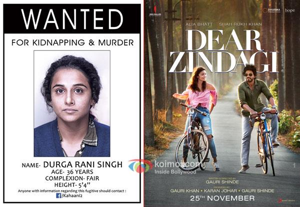 Kahaani 2 : Durga Rani Singh to release 2nd December 2016