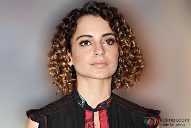 Kangana Ranaut changed clothes behind rocks for 'Rangoon'