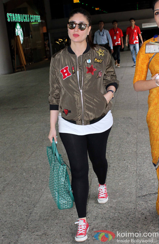 Kareena Kapoor spotted at Airport