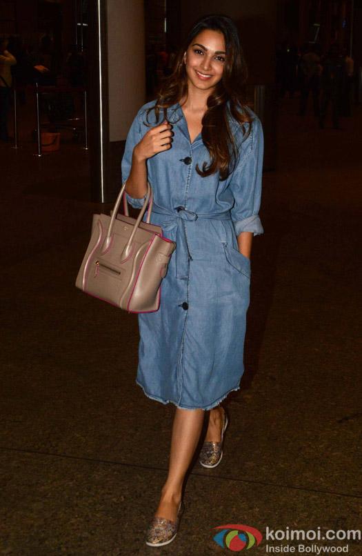 Kiara Advani spotted at Airport