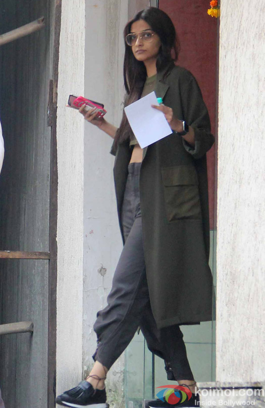 Sonam Kapoor spotted at Skinfiniti Clinic