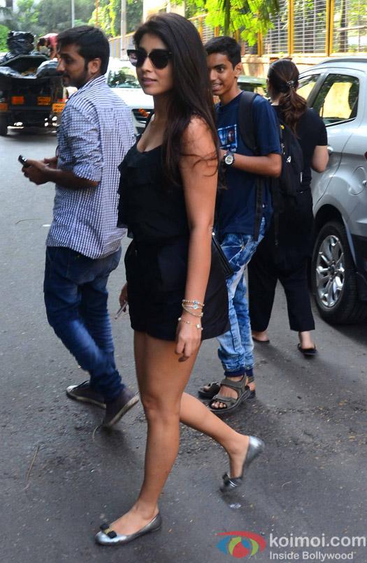 Shriya Saran spotted at Andheri
