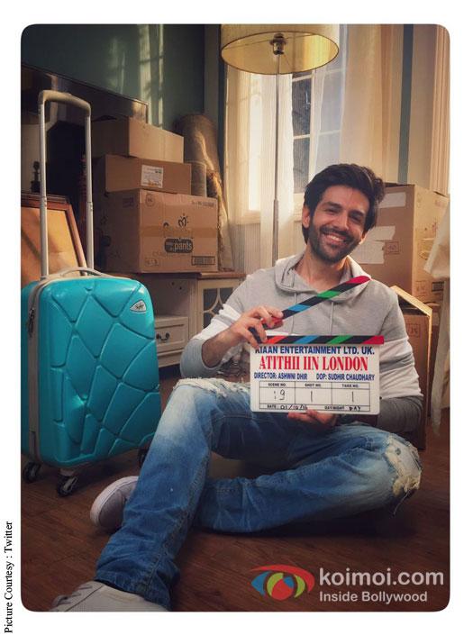 Kartik Aaryan Starts Shooting For Atithi In London