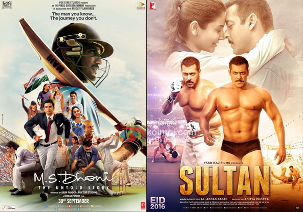 M.S Dhoni - The Untold Story Records 2nd Highest Opening Weekend Of 2016, After Sultan