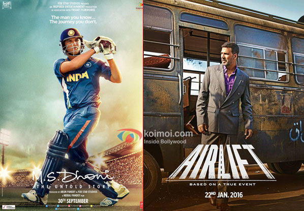 M.S. Dhoni - The Untold Story Surpasses Airlift; Becomes 2nd Highest Grosser Of 2016