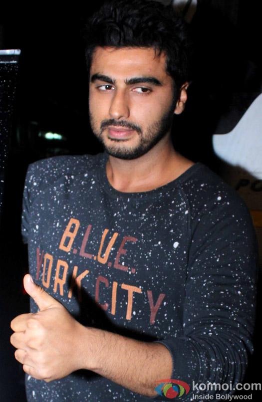 Arjun kapoor spotted at Filmcity