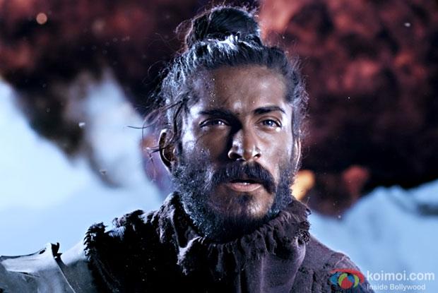 Harshvardhan Kapoor in a still from Mirzya