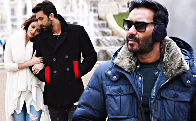 Ae Dil Hai Mushkil neck to neck with Fan lifetime, Shivaay to cross it over the weekend