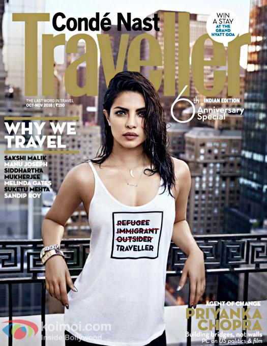 'Priyanka Chopra's magazine cover shot not about privilege or fashion'