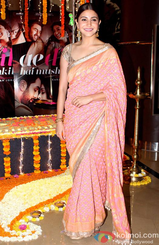 Anushka Sharma visit PVR for the promotion of film Ae Dil Hai Mushkil