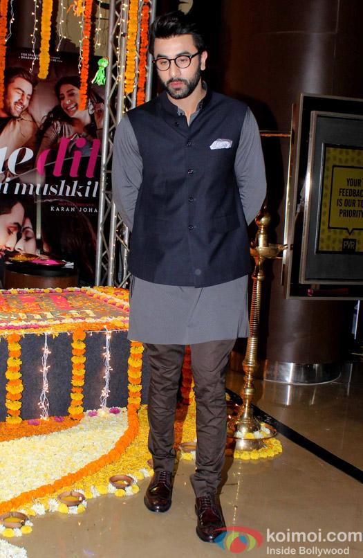 Ranbir Kapoor visit PVR for the promotion of film Ae Dil Hai Mushkil