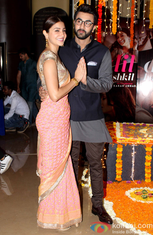 Ranbir and Anushka visit PVR for the promotion of film Ae Dil Hai Mushkil