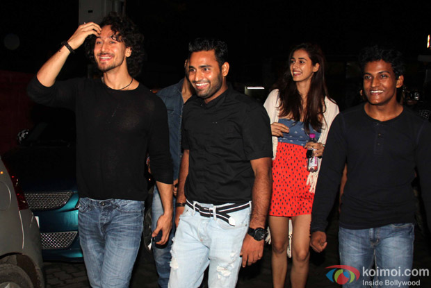 Disha Patani and Tiger Shroff spotted at PVR