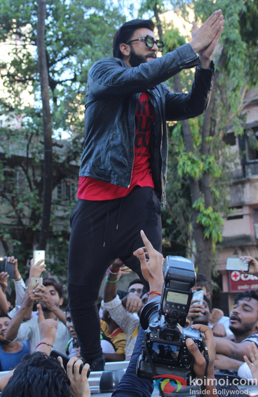 Ranveer Singh launches brand campaign Don't Hold Back