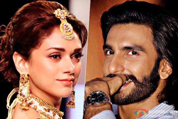 Ranveer Singh To Pair Opposite Aditi Rao Hydari In Padmavati?