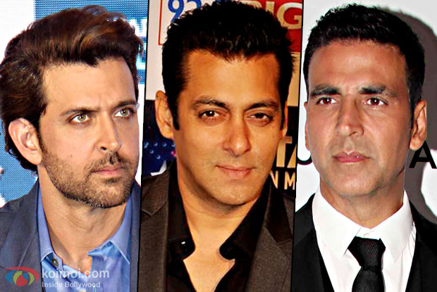 Salman Becomes The Highest Advance Tax Payer Of 2016, Akki And Hrithik Ties On The 2nd Spot