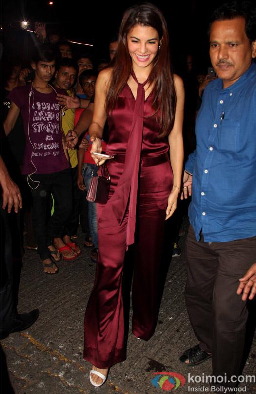 Jacqueline Fernandez at Aayush Sharma's Birthday Party