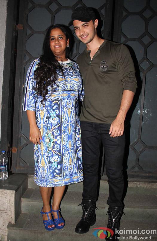 Arpita Khan at Aayush Sharma's Birthday Party