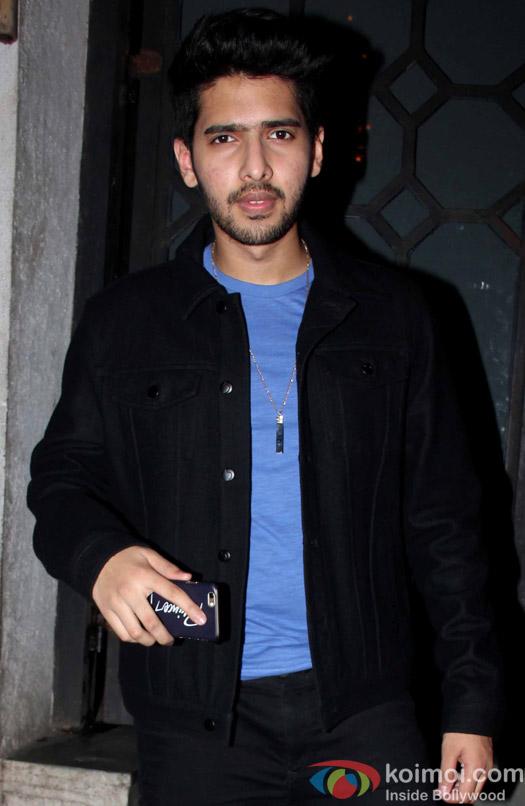 Armaan Malik at Aayush Sharma's Birthday Party