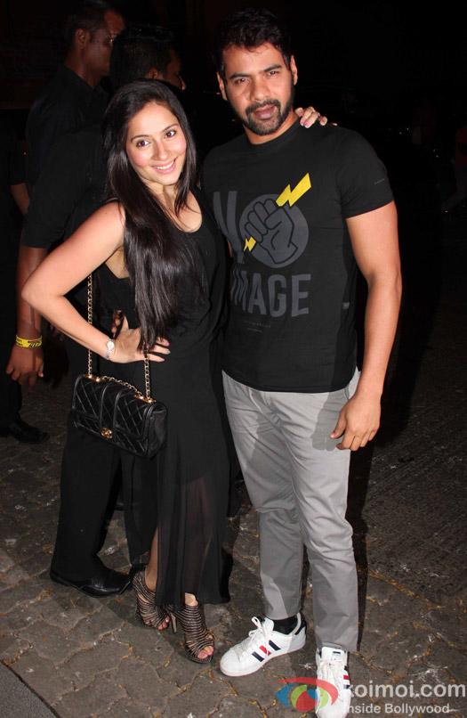 Shabbir Ahluwalia at Aayush Sharma's Birthday Party