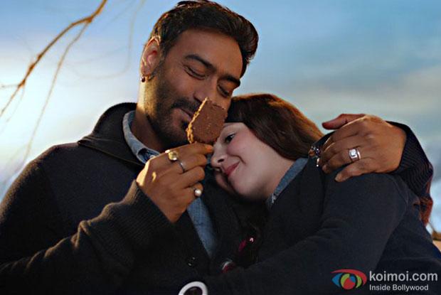 Ajay Devgn in a still from Shivaay