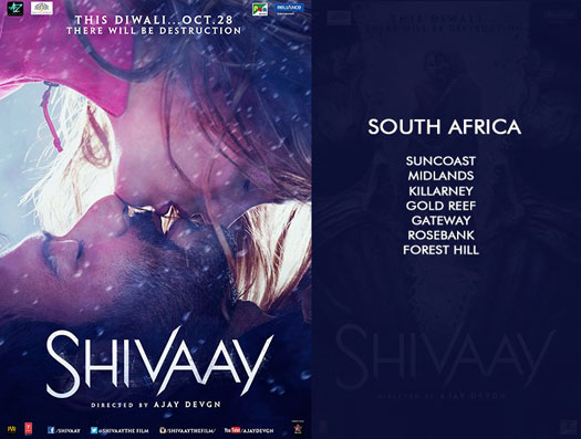Shivaay's To Release In South Africa