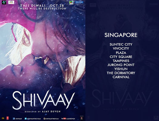 Shivaay's To Release In Singapore