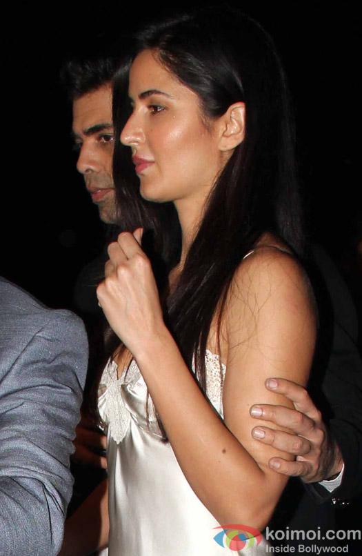 Katrina Kaif and Karan Johar