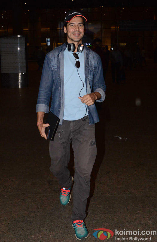 Dino Morea spotted at Airport