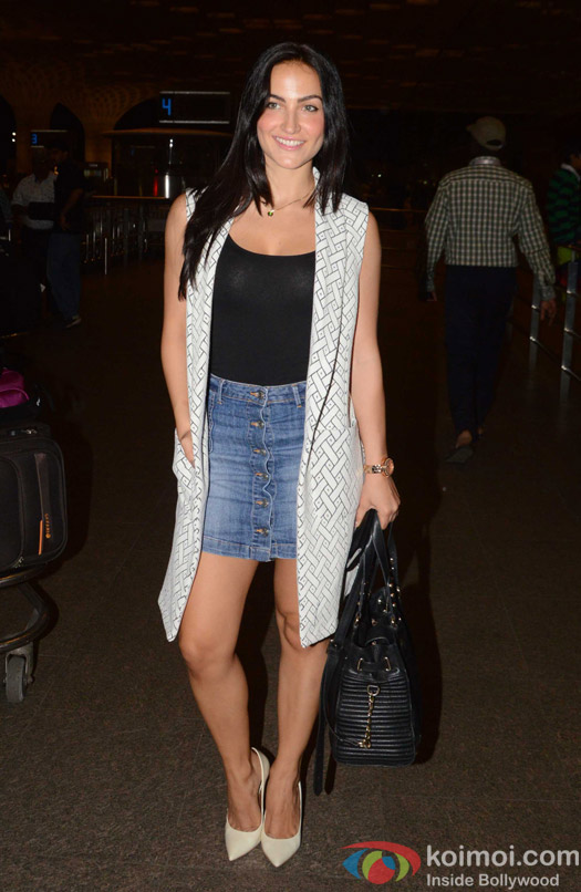 Elli Avaram spotted at Airport