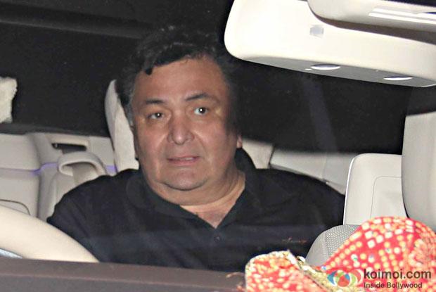 Rishi Kapoor during the special screening of movie Ae Dil Hai Mushkil at lightbox