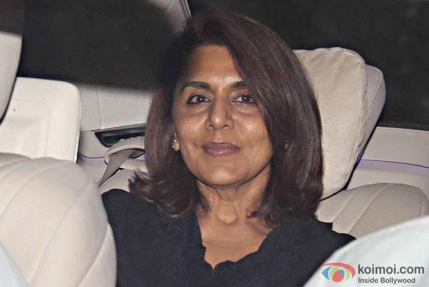 Neetu Singh during the special screening of movie Ae Dil Hai Mushkil at lightbox