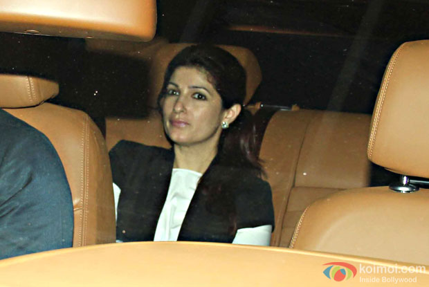Twinkle Khanna during the special screening of movie Ae Dil Hai Mushkil at lightbox